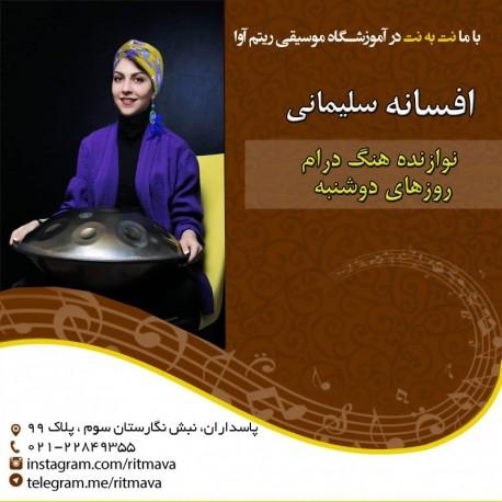 بهترین آموزشگاه موسیقی در تهران|استاد افسانه سلیمی